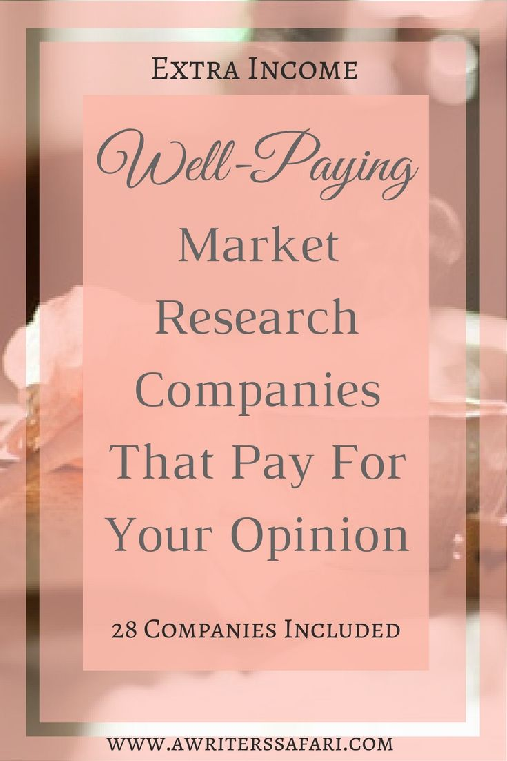 Sites That Pay Well For You To Attend Focus Groups. Give your views on various products and services and get paid for your opinion. List of focus groups that pay well.