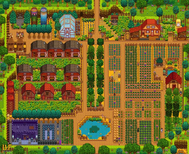 Click to open farm gallery in 2020 stardew valley layout