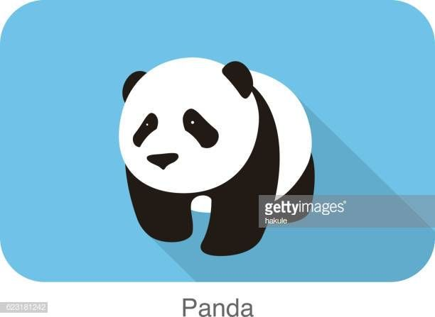 نتيجة بحث الصور عن Nice Panda Walks Vector Panda Vector
