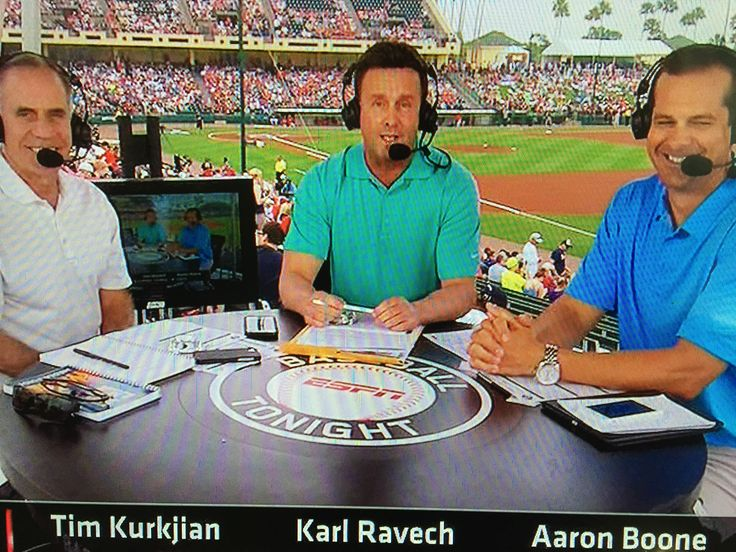ESPN Baseball Tonight, MLB Spring Training from Kissimmee, FLA