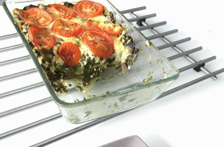Vroeger at ik 2 a 3 keer per week spinazie lasagne. Puur en alleen omdat het heel makkelijk is om te maken, en het is ook nog eens erg…