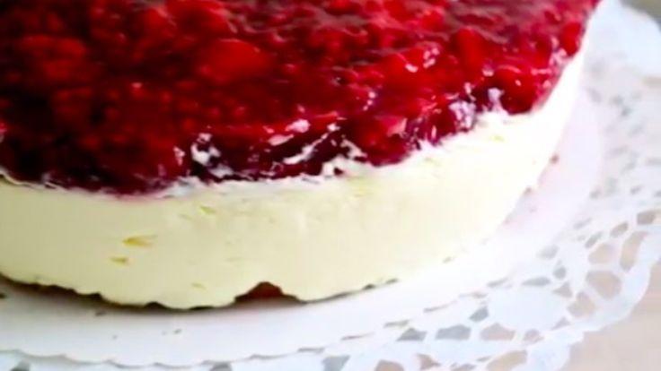 Himbeer Schmand Torte