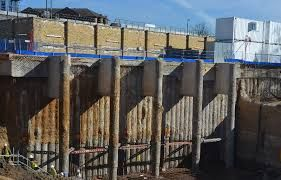 Image result for buttress piling