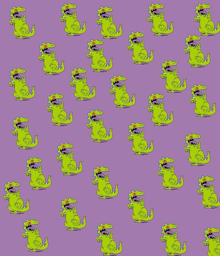 Reptar #wallpaper #pattern #rugrats