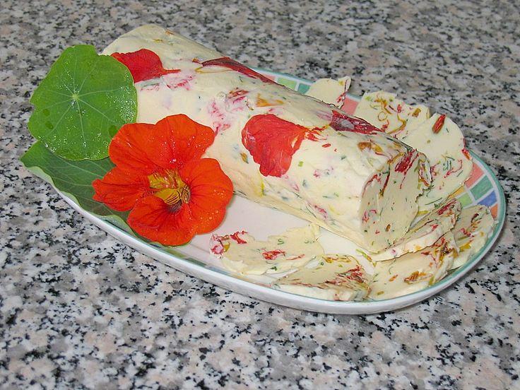 Kapuzinerkresse - Butter (Rezept mit Bild) von Schlipskoch   Chefkoch.de