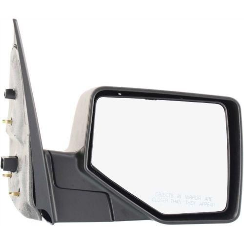 2006-2010 Ford Explorer Mirror RH,Manual,Non-heated,Manual Folding,Chrome/black