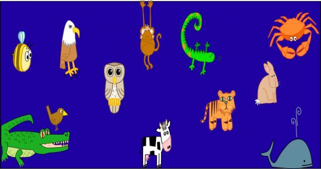 Ejemplos de animales que tienen anagrama