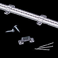 Screws or nails may be used to attach mounting clips where required such as wall, floor or ceiling.  Regular price: $0.75  Sale price: $0.55
