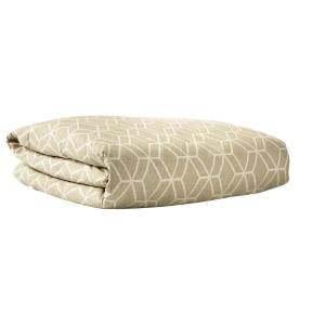 HOME DECORATORS COLLECTION Geome Putty King Duvet 9931350270 at The Home Depot - Mobile