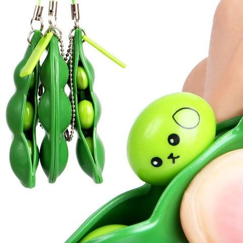 Peas in a pod. Kind of like popping bubble wrap. #toys #fun #japan #novelty