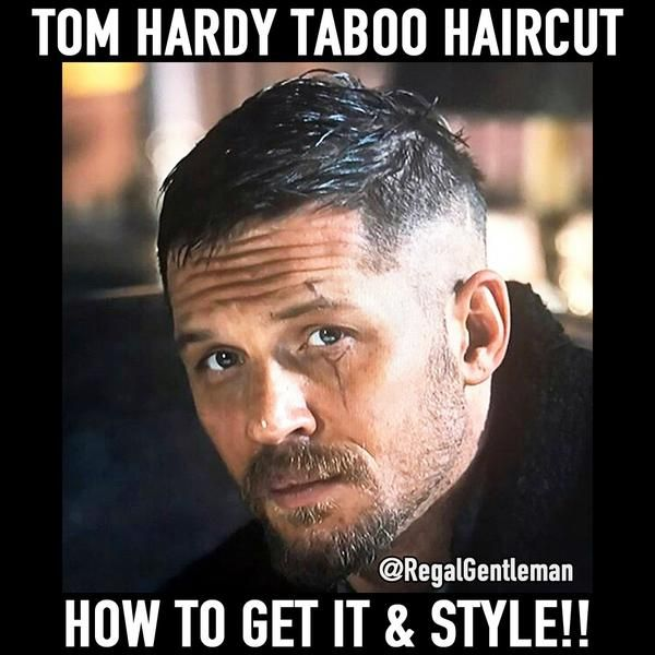 Tom Hardy Taboo Hair - What Is The Haircut? How To Get The Style?