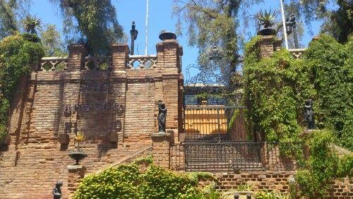 Hidalgo castle, Cerro Santa Lucia