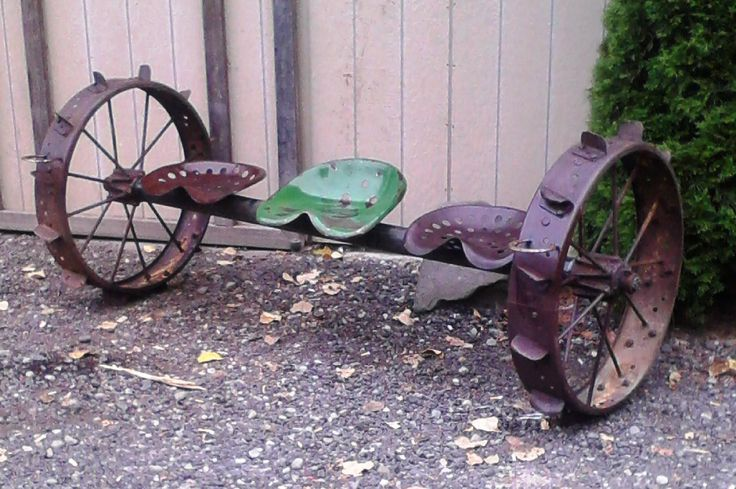1000 Images About Metal Creations From Vintage Farm Steel