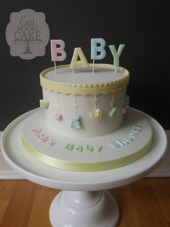 Cake Design For Unisex : 556 best images about Christening and Baby Cake Ideas on ...