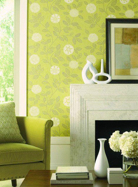 87 best Wallpaper is Back! images on Pinterest | Furniture ...