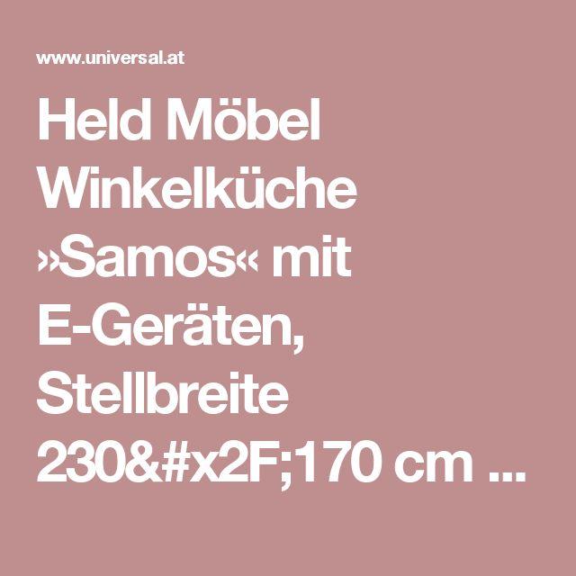 Ideal Held M bel Winkelk che Samos mit E Ger ten Stellbreite cm