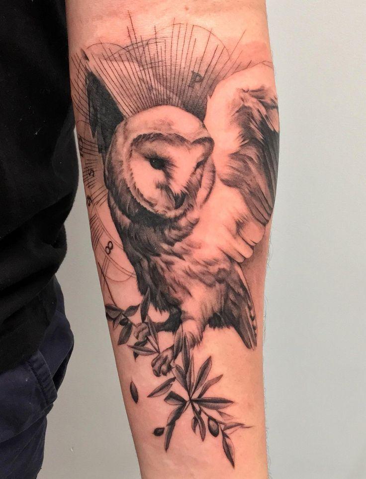 How To Get Rid Of A Bad Tattoo Barn Owl Tattoo Sleeve Tattoos Tattoos