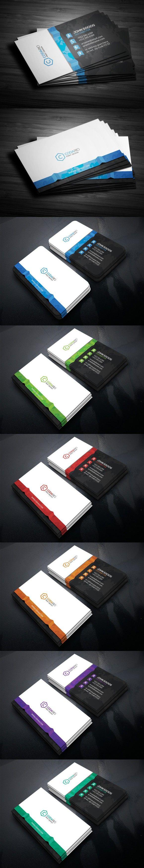 Mejores 272 imágenes de Business Card Templates en Pinterest ...