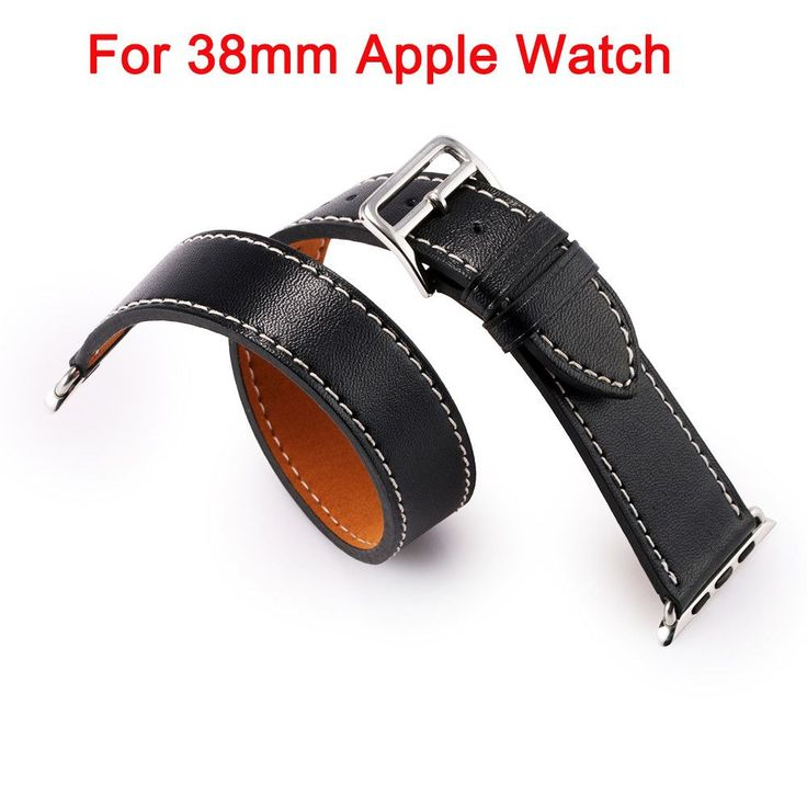 Apple Watch Bracelet Strap replacement bands High Quality Leather wristband for 38mm 42mm Smart Watch