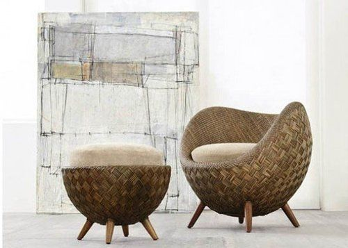 La Luna Rattan Chair By Kenneth Cobonpue Admired... U2014