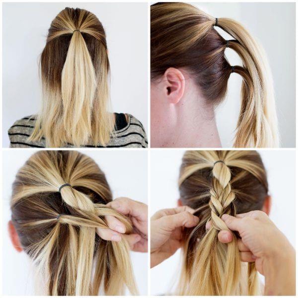 Einfache Frisuren Kurze Haare Selber Machen Einfache Flechtfrisuren 110 Coole Ideen Und Geflochtene Frisuren Mittellange Haare Frisuren Einfach Flechtfrisuren
