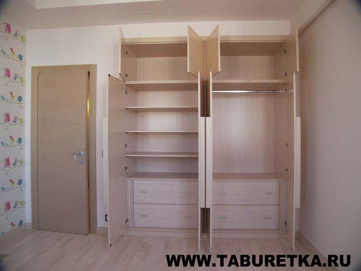 Распашной шкаф в современном стиле, наполнение