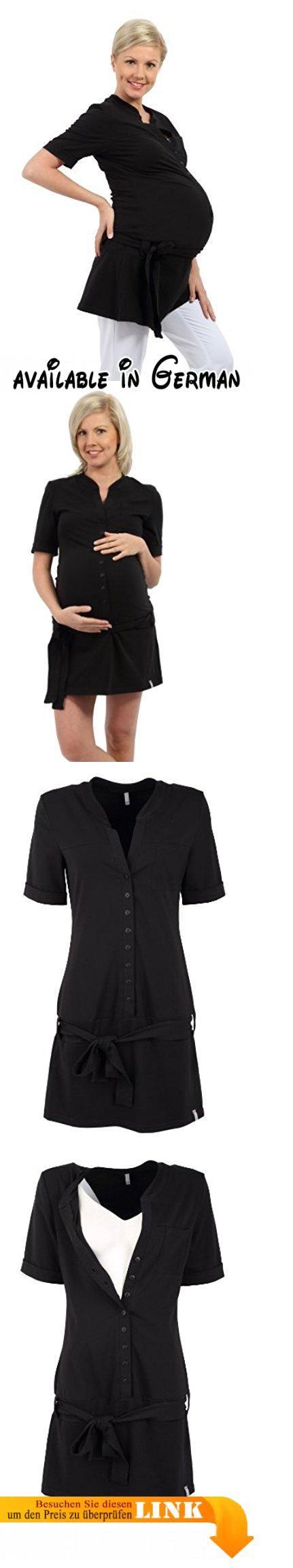 Be! Mama - 2in1 Umstandstunika, Stilltunika, Modell: TILDE. exzellente Herstellungsqualität. hochqualitative Baumwolle. Ideal in der Schwangerschaft, nach der Geburt sowie zum Stillen. passt sich dem wachsenden Babybauch an. passt ideal zu Leggings, dünnen Hosen oder Jeans #Apparel #SHIRT