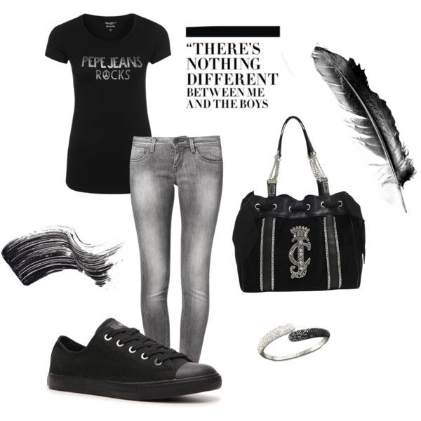 """Rock and the city"" by gravakat on Polyvore"