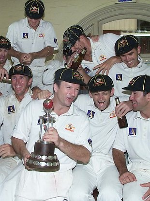 Steve Waugh's Aussie cricket side
