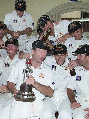 Steve Waugh's Aussie cricket side