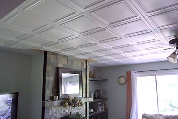 Cover Popcorn Ceiling For The Home Pinterest