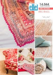 Use Elle Yarns' Big Ball to create the perfect blanket