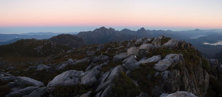 Panoramio - Photo of dawn on summit of The Cupola