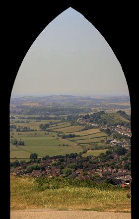 Wearyall Hill - stock photo