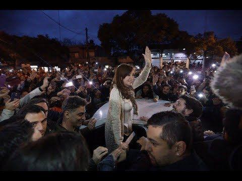 #UnidadCiudadana Cierre de campaña de Cristina Kirchner en la Provincia de Buenos Aires #tuvoztuvoto - YouTube