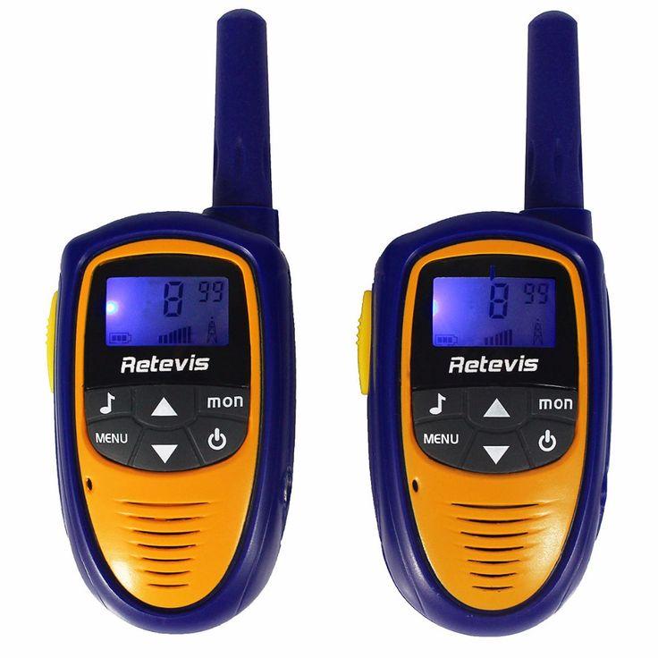 2 sztuk mini walkie talkie dla dzieci dzieci radio retevis rt31 0.5 w 8/22CH PMR446 Przenośne Ham Radio Handy Comunicador 2 Way Zabawki Radio