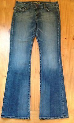 Women's EXPRESS Stella Boot Cut Jeans, Size 8 L - Medium Wash