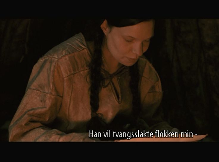 From the movie The Kautokeino Rebellion. Elen`s leather tunic thing.