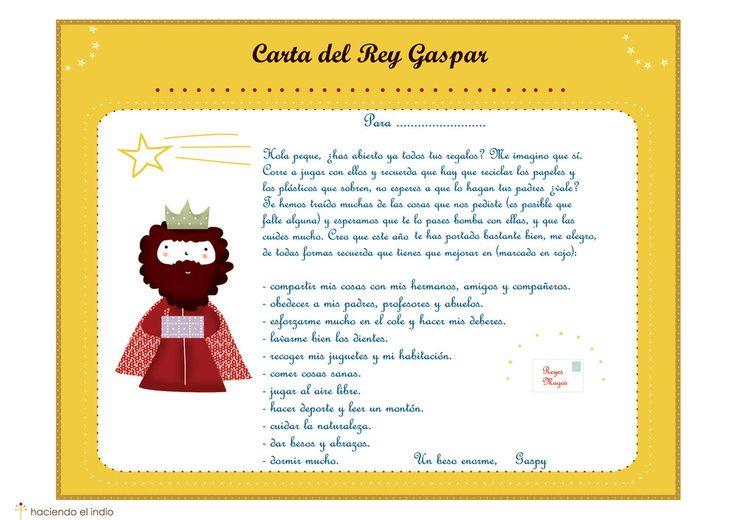 Kids wall art, prints and murals-Cuadros infantiles, láminas y tarjetas para fiestas — Carta a los Reyes Magos con Cuestionario y Cartas de los Reyes a los Niños