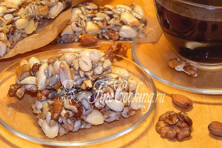 Козинаки ореховые - рецепт с фото