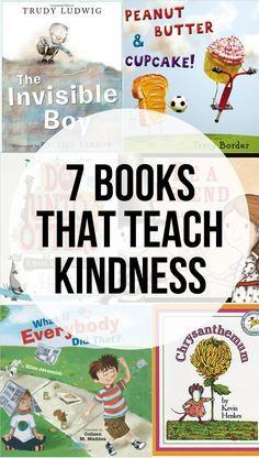 7 books that teach kindness to children from @chantelklassen #ReadYourWorld #KidLit #kindness