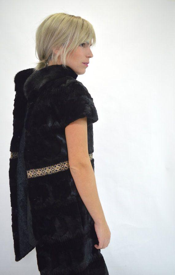 Real fur jacket mink fur coat. Genuine pelt mink fur by BeFur