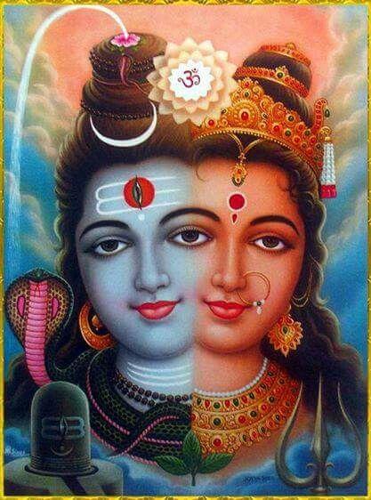 Shiv Parvati Ardhanareshwar