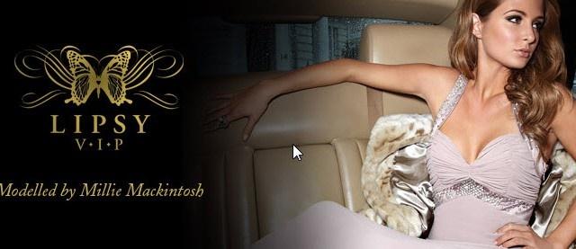 Millie Mackintosh Models Lipsy