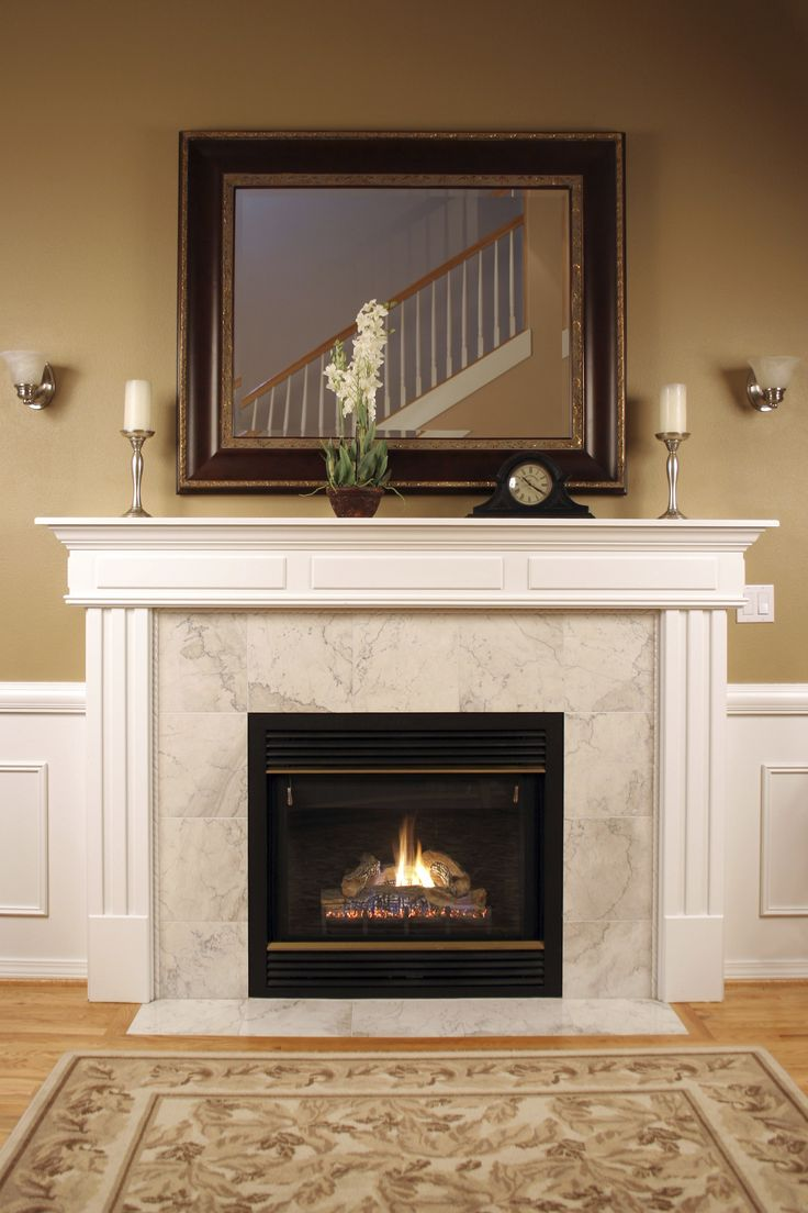 Decorating Your Mantle- seasonal and year-round ideas for decorating your mantle. www.domesticallychallenged.net