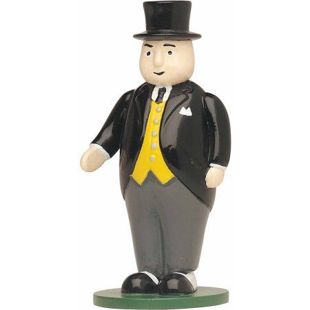 Bachmann Trains Thomas and Friends Sir Topham Hatt Scenery Item, HO Scale, Black