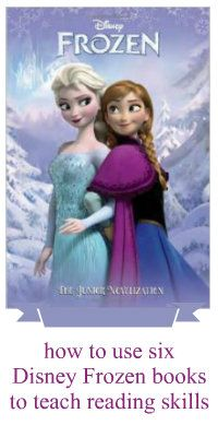 How to use Disney Frozen books to enhance learning (with videos reviews and excerpts of 6 books)