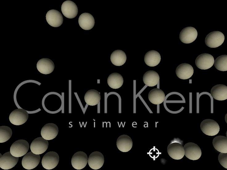 Muraviglia Wall game developed for Calvin Klein Swimware