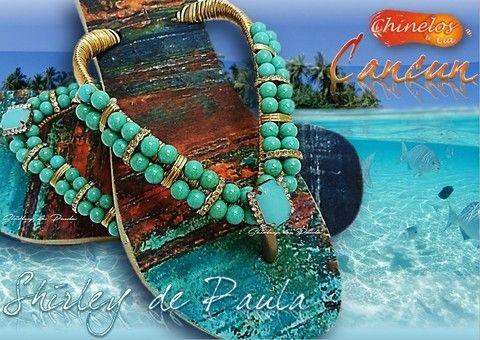Havaianas Customizadas Cancun