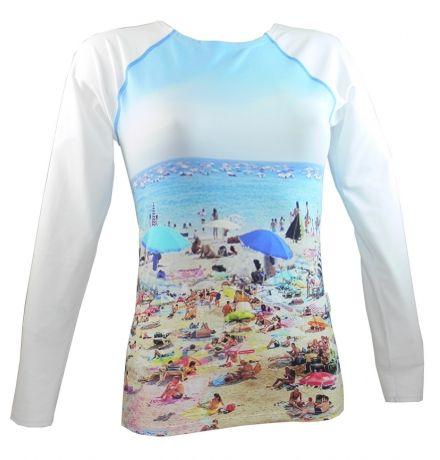 Tshirt-top anti UV manches longues